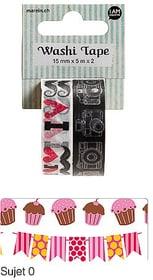 Washi-Tape I AM CREATIVE 665560300050 Sujet Sujet 5 Bild Nr. 1