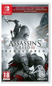 NSW - Assassin's Creed 3 - Remastered Box 785300142518 Photo no. 1