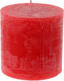 Zylinderkerze Rustico Kerze Balthasar 656209500011 Farbe Rot Grösse ø: 10.0 cm x H: 10.0 cm Bild Nr. 1