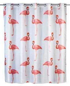 Tenda doccia Flamingo Flex antimuffa WENKO 674008300000 Taglio 180 x 200 cm N. figura 1