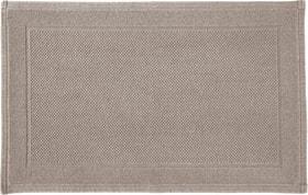 NAVE Tapis en tissu éponge 450854721569 Couleur Taupe Dimensions L: 50.0 cm x H: 80.0 cm Photo no. 1