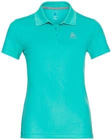 Damen F-DRY Poloshirt Damen-Poloshirt Odlo 466108400415 Grösse M Farbe smaragd Bild-Nr. 1