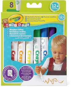Crayola 8 feutres lavables Mini Kids 745172200000 Photo no. 1