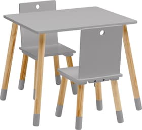 BEN Table et sièges pour enfants 404738200000 Couleur Gris Photo no. 1