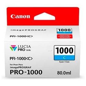 PFI-1000  cyan Cartouche d'encre Canon 785300126464 Photo no. 1