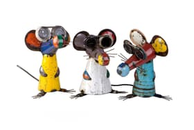 Drei blinde Mäuse Deko Figur 657946400000 Bild Nr. 1