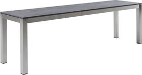 LOCARNO, Gestell Edelstahl, Platte Keramik Gartenbank 753193316035 Grösse L: 160.0 cm x B: 35.0 cm x H: 45.0 cm Farbe Oxido Flame Bild Nr. 1