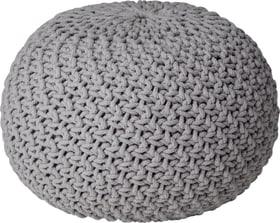 MERYL Pouf 407409500081 Dimensioni A: 35.0 cm Colore Grigio chiaro N. figura 1