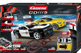 Police Chase Go! Plus 2 voitures de course incluses Carrera 746233100000 Photo no. 1