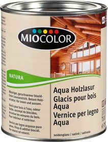 Glacis pour bois Aqua Pin 750 ml Miocolor 661116200000 Couleur Pin Contenu 750.0 ml Photo no. 1