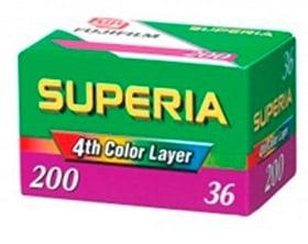Superia 200 135-36 Pellicule photo