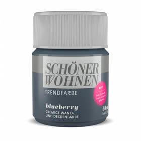 Trendfarbe Matt Tester Blueberry 50 ml Wandfarbe Schöner Wohnen 660983600000 Inhalt 50.0 ml Bild Nr. 1