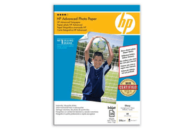 Q5456A Advanced Glossy Photopaper Carta fotografica HP 797482400000 N. figura 1