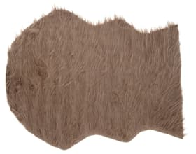 Peau de mouton imitation Tapis Do it + Garden 656960600004 Couleur Gris taupe Taille L: 90.0 cm x L: 65.0 cm Photo no. 1