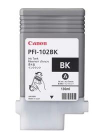 PFI-102BK  schwarz Tintenpatrone Canon 785300123894 Bild Nr. 1