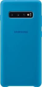 Silicone Cover Blue Hülle Samsung 785300142479 Bild Nr. 1