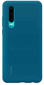 Hard-Cover Silicone blue Hülle Huawei 785300143234 Bild Nr. 1