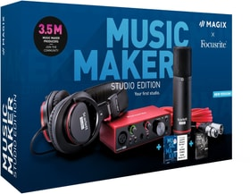 Music Maker Studio Edition 2021 [PC] (D) Physisch (Box) Magix 785300155405 Photo no. 1