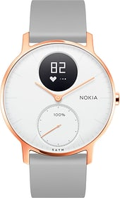Steel HR (36 mm) Rose Gold / Grey Silicone Wristband Special Edition Nokia 785300134670 N. figura 1