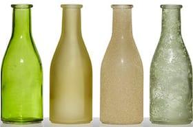 Vasen-Set Vase Hakbjl Glass 657015800001 Farbe Grün Grösse H: 18.5 cm Bild Nr. 1
