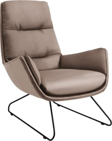 ANDRES Fauteuil 402473307085 Dimensions L: 83.0 cm x P: 94.0 cm x H: 97.0 cm Couleur Pierre Photo no. 1