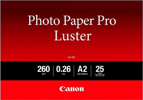 Photo Paper Pro Luster A2 LU-101
