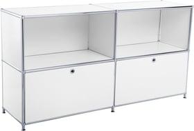 FLEXCUBE Buffet 401814020210 Dimensioni L: 152.5 cm x P: 40.0 cm x A: 80.5 cm Colore Bianco N. figura 1