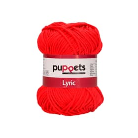 Filo uncinetto Puppets Lyric Red Heart 664720703452 Colore Rosso N. figura 1