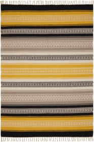 KELIM Tapis 412012208050 Couleur jaune Dimensions L: 80.0 cm x P: 150.0 cm Photo no. 1