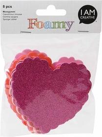 FOAMY, Herz Glitter, 8 Stk 666779500000 Bild Nr. 1