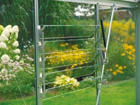 VITAVIA Lüftautomat für seitliche Fenster Gewächshaus 631387300000 Bild Nr. 1
