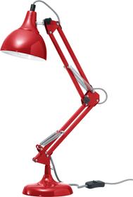 NICO Lampe de table 421234703033 Dimensions L: 25.0 cm x P: 15.0 cm x H: 48.0 cm Couleur Rouge Photo no. 1