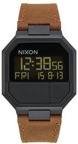 Re-Run Leather All Black Brown 38 mm Armbanduhr Nixon 785300137048 Bild Nr. 1