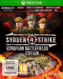Xbox One - Sudden Strike 4 European Battlefields Edition (D) Box 785300134847 Bild Nr. 1