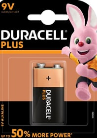 Plus Power 9V / 6LR61 (1Stk.) Batterie Duracell 704742400000 Bild Nr. 1
