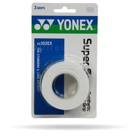 Super Grap Overgrip Dreierpack Griffband Yonex 491312700010 Farbe weiss Bild-Nr. 1