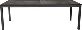 LOCARNO, Gestell Anthrazit, Platte Granit Gartentisch 753192422020 Grösse L: 220.0 cm x B: 90.0 cm x H: 74.0 cm Farbe Schwarz Bild Nr. 1