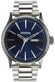Sentry SS Blue Sunray 42 mm Montre bracelet Nixon 785300136968 Photo no. 1