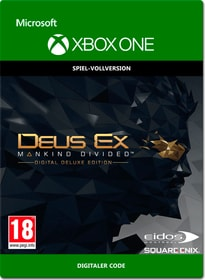 Xbox One - Deus Ex Mankind Divided: Digital Deluxe Edition Download (ESD) 785300138660 Photo no. 1