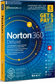Security 360 Deluxe 50GB 5 for 3 Devices Physisch (Box) Norton 785300151685 N. figura 1