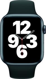 Watch SE LTE 44mm Space Gray Aluminium Black Sport Band Smartwatch Apple 785300155523 Bild Nr. 1