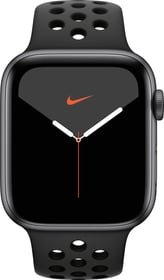 Watch Nike Series 5 GPS 44mm space gray Aluminium Anthracite Black Sport Band Smartwatch Apple 798710500000 N. figura 1