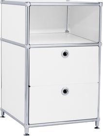 FLEXCUBE Cassettiera 401887000000 Dimensioni L: 40.0 cm x P: 40.0 cm x A: 62.5 cm Colore Bianco N. figura 1