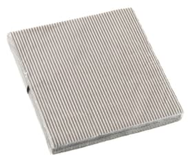STRIPES Serviettes en papier 440600803381 Couleur Beige Dimensions L: 33.0 cm x P: 33.0 cm x H: 0.1 cm Photo no. 1