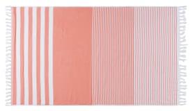 HELADIA Linge Hamam 450862822331 Couleur corail Dimensions L: 100.0 cm x H: 170.0 cm Photo no. 1