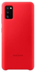 Silicone Cover red Coque Samsung 785300156866 Photo no. 1