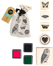 Stamps in a bag, 5Stk., Animals I AM CREATIVE 665541400010 Sujet ANIMAL Bild Nr. 1