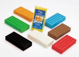 Plastilina pasta per modellare 250g giallo Glorex Hobby Time 665484500020 Colore Giallo N. figura 1