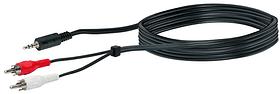 Audio Adapterkabel Stereo 3 m Audio Adapterkabel Schwaiger 613181900000 Bild Nr. 1