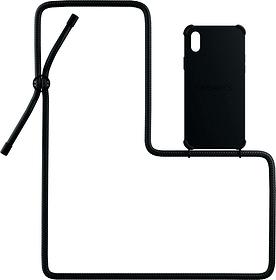 Necklace Case All Black iPhone X / XS Custodia Urbany's 785300159392 N. figura 1
